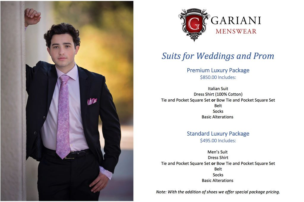 Gariani Menswear Dallas Plano Dressing professionally