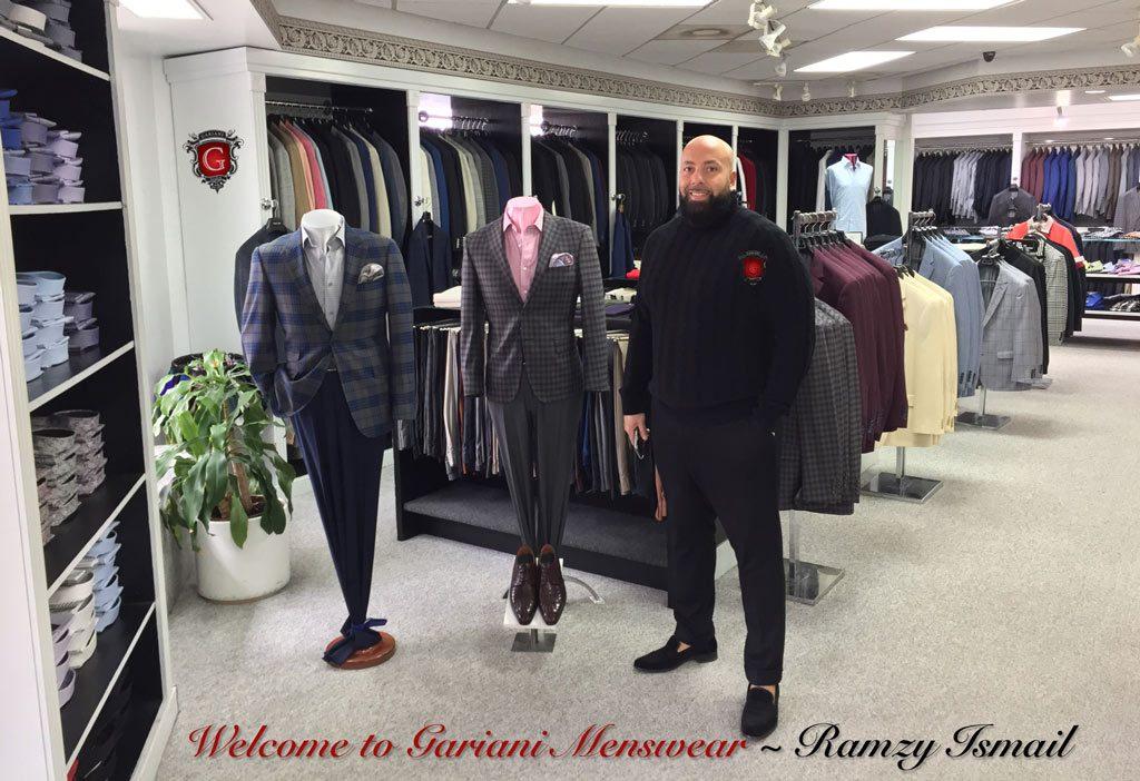 Clothier Gariani Menswear ~ Ramzy Ismail, Dallas, Plano