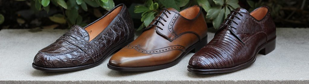 Fine Men's Shoes at Gariani Menswear in dallas specializes in handcrafted custom clothing for men and women.